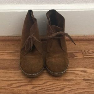 Jcrew leather booties